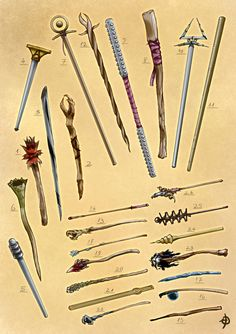 Reznick's Scepters by EyalDegabli equipment gear magic item | Create your own roleplaying game material w/ RPG Bard: www.rpgbard.com | Writing inspiration for Dungeons and Dragons DND D&D Pathfinder PFRPG Warhammer 40k Star Wars Shadowrun Call of Cthulhu Lord of the Rings LoTR + d20 fantasy science fiction scifi horror design | Not Trusty Sword art: click artwork for source