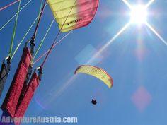 Paragliding in Lienz, Austria Paragliding, Summer 2015, Austria, Germany, Europe, Adventure, Sports, Photos, Pictures
