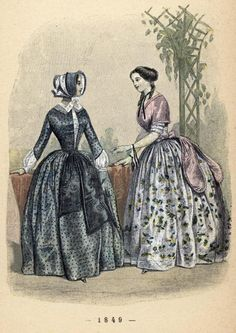 A Siecle De Modes Feminines 1849