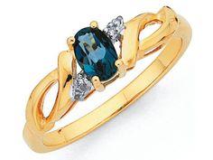 So simple yet so elegant! Blue Topaz Diamond, Sapphire, London Blue Topaz, Jewellery, Elegant, Simple, Rings, Women, Classy
