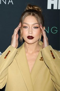 """Hadid News on Twitter: """"April 25: Gigi at the premiere of HBO's 'Being Serena' in New York City.… """""""