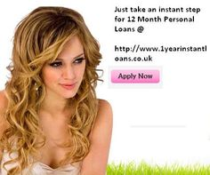 12 Month Personal Loans are a comprehensive term for any loan, which does not have a limited purpose. 12 Month Personal Loans are very popular among the people because of its unique advantages and flexibility in the loan structure. These loans are available from different sources such as banks and private lenders. Now, acquiring a personal loan is an easy chore as the online loan application and loan approval has helped considerably to reduce the task involved in the loan processing.