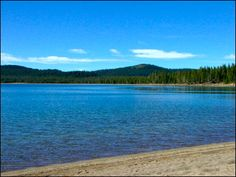 Medicine Lake is located at an elevation of 7000 feet in the caldera of the Medicine Lake Volcano in northeast California