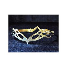 Handmade Brass Crown 1 - Renaissance Clothing: Buy Medieval Costumes... ($155) ❤ liked on Polyvore