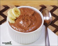 This is, by far, one of the most raved-about snack recipes in my Reset 28 program for energy & weight loss. People LOVE it and I know you will too! I make this delicious, healthy pudding all the time. The the best thing about it – it IS good for you! Peanut butter and cacao …