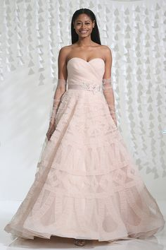 WATTERS FALL 2015 COLLECTION wedding dress, bridal gown, bride inspiration, blush wedding dress