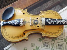 Wulffenstejn Hardanger Fiddle and Mandolin Works:  Bevan Wulfenstein 2005 No. 2417 sold for $3,200