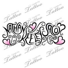 pictures+of+tattoos+with+children's+names | Tattoo with children's names | CreateMyTattoo.com | tat ideas