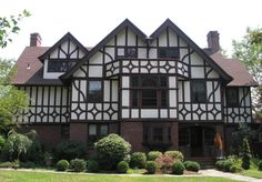 Intricate designs incorporated in this Tudor Styled home.