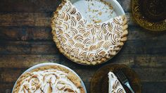Impressive doesn't necessarily mean hard. The curd for this lemon meringue pie recipe can be made at least a day ahead, as can the crust. Divide up the work, stay cool, and knock 'em dead with the presentation.