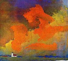 Emil Nolde | Rotgelbe Wolke