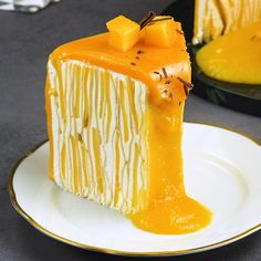 Mango pancake cake - Trend Home Entertainment 2020 Milk Recipes, Sweet Recipes, Baking Recipes, Dessert Recipes, Devilled Eggs Recipe Best, Deviled Eggs Recipe, Milk Dessert, Pancake Cake, Unprocessed Food