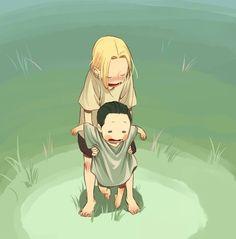    Thor and baby Loki   