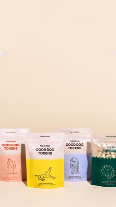 The Colour Club food packaging design and modern, colorful branding. Pet Branding, Food Branding, Food Packaging Design, Packaging Design Inspiration, Brand Packaging, Design Café, Label Design, Food Design, Package Design