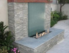 Outdoor Wall Water Features | Outdoor Water WallFountainZ Freedman ...