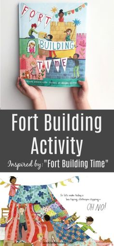"""""""Fort Building Time"""" is the perfect book to inspire a little fort building and creative play. Check it all out here! Mindfulness For Kids, Mindfulness Activities, Kids Learning Activities, Teaching Kids, Reading Lessons, Kids Reading, Childrens Books, Kid Books, Build A Fort"""