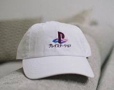 Playstation Vaporwave Hat - White