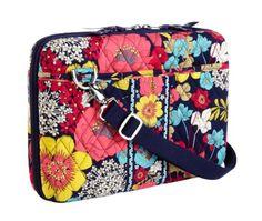 Amazon.com: Vera Bradley Mini Laptop Case in Indigo Pop: Clothing