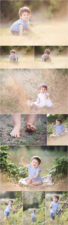 Summer outdoor portrait session! What a sweetie!