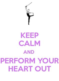 Keep Calm & Spin Your Heart Out.