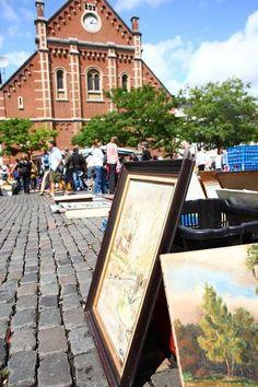 Marché aux puces - place du Jeu de Balle - Vlooienmarkt Vossenplein - Flea market