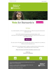 Barnardos: Help change a child's life in just a few seconds