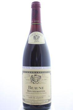 Louis Jadot (Domaine Des Héritiers Louis Jadot) Beaune Boucherottes 2009. France, Burgundy, Beaune, Premier Cru. 12 Bottles á 0,75l. Estimate (11/2016): 550 USD (45,83 USD (1.116 CZK) / Bottle).