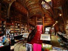 """thegirlandherbooks: """" Livraria Lello & Irmão is a bookstore located in central Porto, Portugal. It is one of the oldest book stores in Portugal. It has stained glass windows, carved wood book shelves,. Livraria Lello Porto, Beautiful Library, Any Book, Book Nooks, Library Books, Grand Library, Beautiful Buildings, Beautiful Stairs, Beautiful Places"""