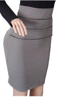 8496d48891 En este tutorial aprenderás a corta y confeccionar una falda cotilla alta  de mujer