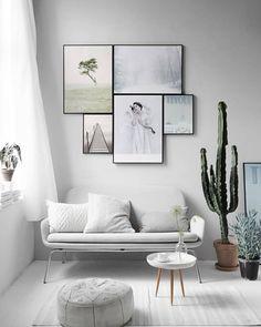 6-mudanças-gastando-pouco-sala-com-cactos-e-quadro-na-parede
