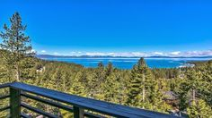 Spectacular Lake View of Zephyr Cove Lake Tahoe