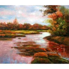 Real Handmade Landscape Oil painting