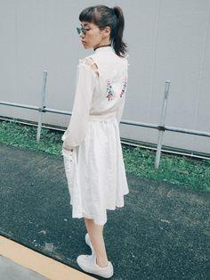 仲里依紗さんのスカート「jouetie 」を使ったコーディネート