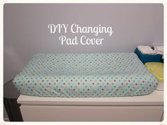 DYI Changing Pad. Will Need Foam, Vinyl Fabric To Make Waterproof? And Make  Changing Pad Covers.   Baby T   Pinterest   Diy Changing Table, Changing Pad  And ...