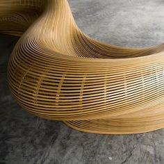 #furniture #design #woodbending #woodworking #whiteoak