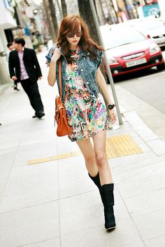 Ulzzang Fashion Summer itsmestyle woman fashion cute