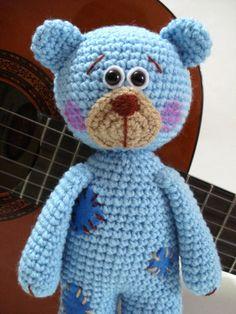 Pattern, Teddy Bear Pattern, Crochet Tutorial, Amigurumi Teddy Bear Pattern…