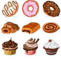 Картинки с пирожными