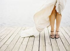 Chasing Rainbows Kissing Frogs: Wedding Shoe Photography