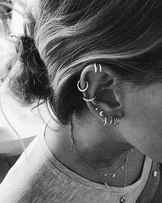 useful tips: Jewelry Vintage Avon jewelry making wire. - Amazing useful tips: Jewelry Vintage Avon jewelry making wire.Jewelry Vintage … -Amazing useful tips: Jewelry Vintage Avon jewelry making wire. Piercing Rook, Cute Ear Piercings, Piercing Tattoo, Septum Piercings, Cute Jewelry, Vintage Jewelry, Jewelry Accessories, Black Jewelry, Jewelry Stand