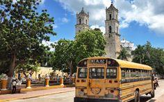 Alter Schulbus in Mexiko © Roman Vaibar / restplatzboerse.at