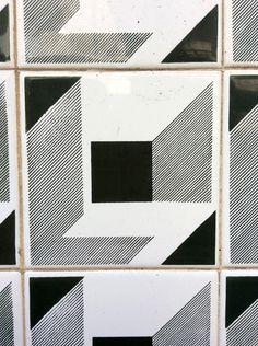 Azulejo em casa portuguesa, Póvoa de Varzim - Detalhe