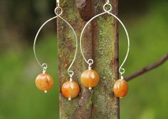 Handmade Red Aventurine Coin & Sterling by BodaciousBaubleNBead, $11.50