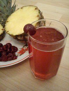 ananász és meggy