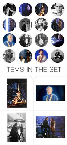"""""""but he can use the force, they say"""" by same-sunset ❤ liked on Polyvore featuring art and nicolewantstoseethis"""