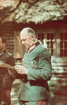 General Alfred jodel at FHQ Ukraine