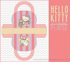 Hello Kitty Printable Purse