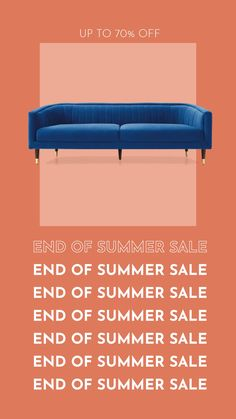 We're giving summer the proper send off with our End of Summer Sale. Shop up to off select styles all week long. Email Template Design, Email Design, Ad Design, Ads Creative, Creative Advertising, Advertising Design, Design Typography, Graphic Design Posters, Poster S