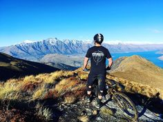 A thousand meter vertical descent. That's why I love this place. #Queenstown #downhill #mountainbike #wanderlust