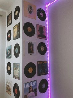 aesthetic indie bedroom record grunge tok tik led lights retro lalie tiktok teen collage inspo makeover crafts neon rover rock